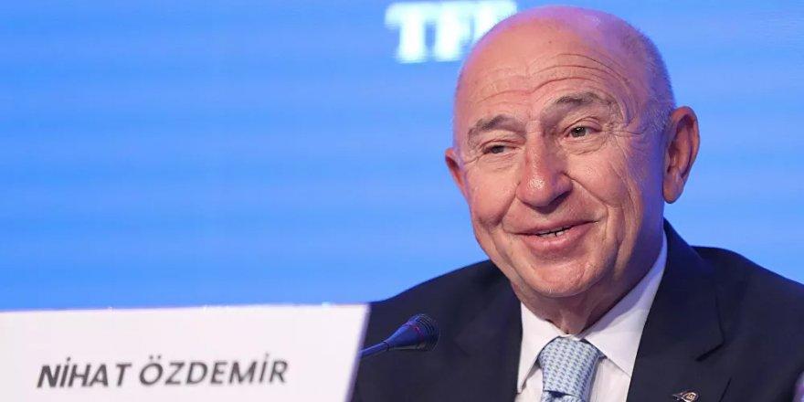 TFF Başkanı Özdemir'den yabancı oyuncu ve seyirci  açıklaması