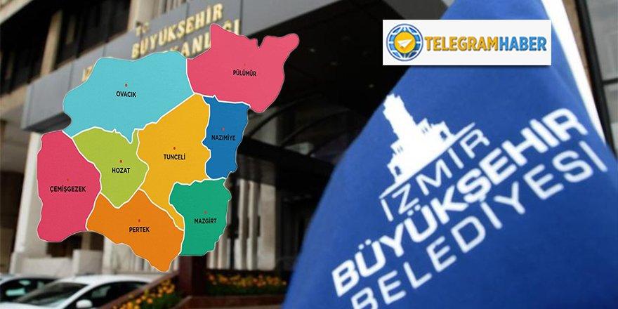 İzmir'in taşını toprağını karış karış bilen Tuncelili müteahhite pazarlık usulü 21 milyonluk ihale!