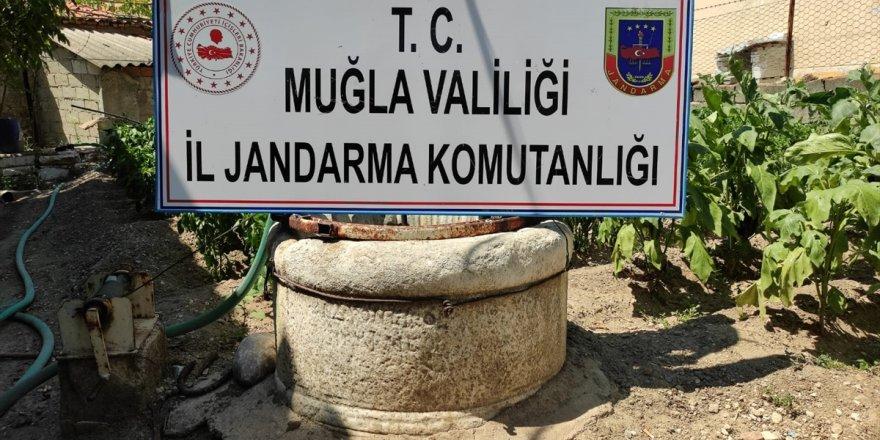 Muğla'da evinde tarihi eser bulunan kişi gözaltına alındı