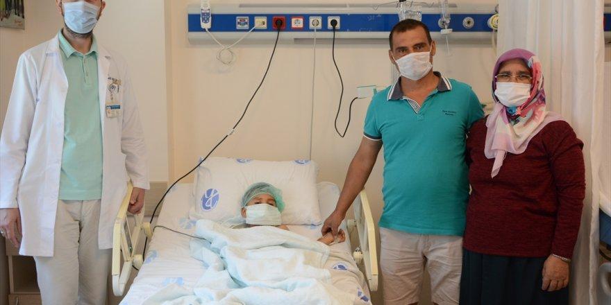 Denizli'de 5 yaşındaki çocuğun yuttuğu madeni para endoskopiyle çıkarıldı
