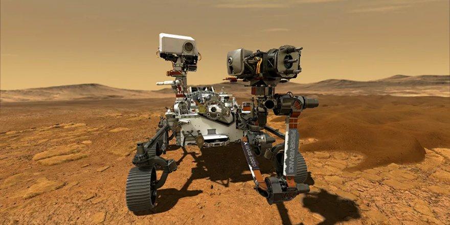 Uzay aracı Perseverance, Mars'tan yeni fotoğraflar paylaştı