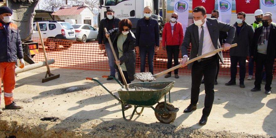 Kiraz'da kapalı pazar yerinin temeli atıldı