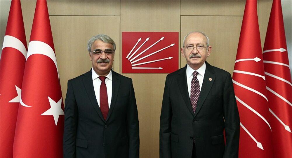 HDP Eş Genel Başkanı Sancar, CHP lideri Kılıçdaroğlu'nu ziyaret etti: 'İYİ Parti ile görüşme isteğimiz devam ediyor'