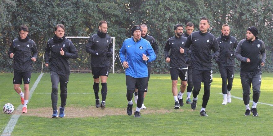 Altay, Altınordu maçının hazırlıklarına başladı