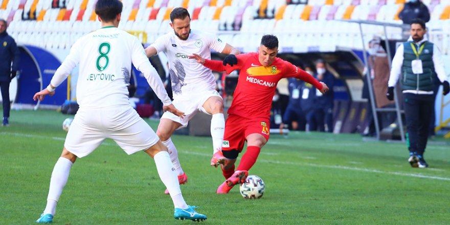 Yeni Malatyaspor: 2 - Konyaspor: 3