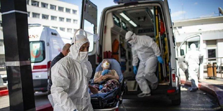 Son 24 saatte korona virüsten 80 kişi hayatını kaybetti