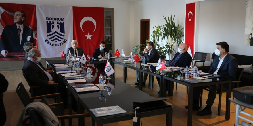 Bodrum'da belediye başkanları koordinasyon toplantısı düzenlendi