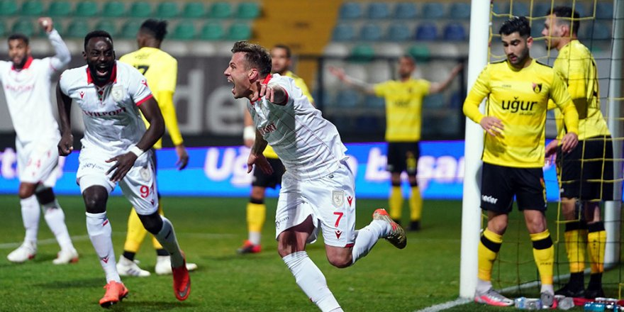 İstanbulspor: 0 - Samsunspor: 1