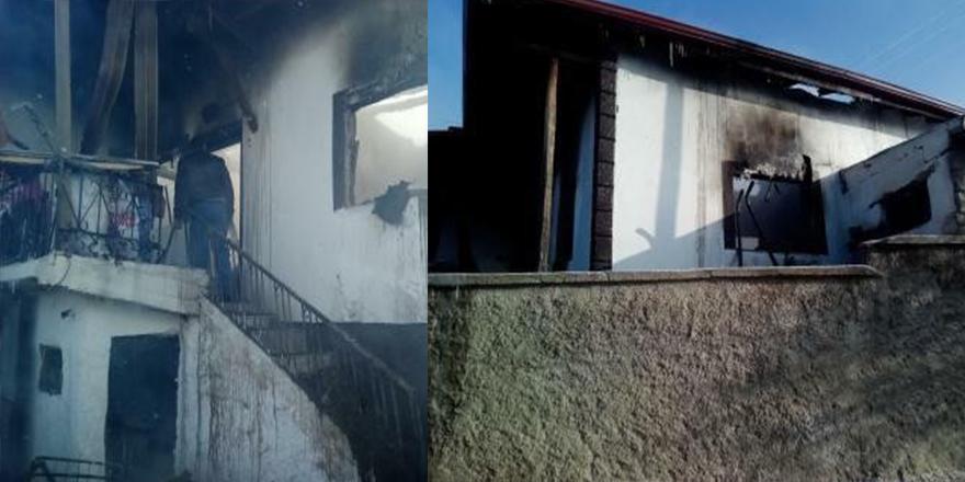 Yozgat'ta çıkan yangında mutfak tüpü patladı: 2 ölü