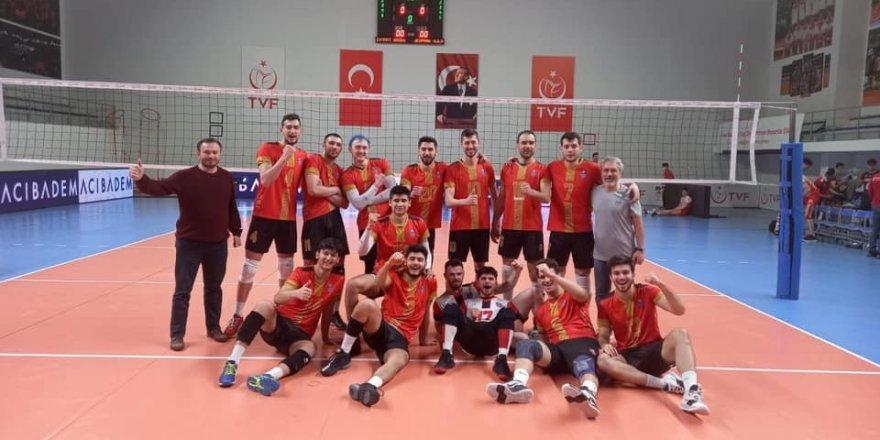 TVF 1. Lig: Jeopark Kula Belediyespor: 3 - Global Connect Travel Düzce: 1