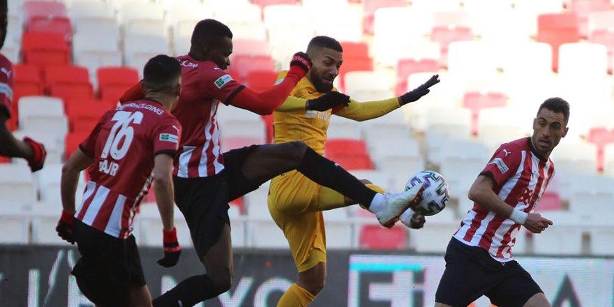 DG Sivasspor: 2 - Kayserispor: 0