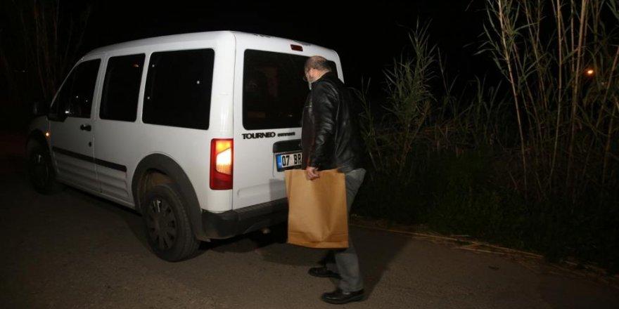 Antalya'da çalılıkların arasında insan kafatası bulundu