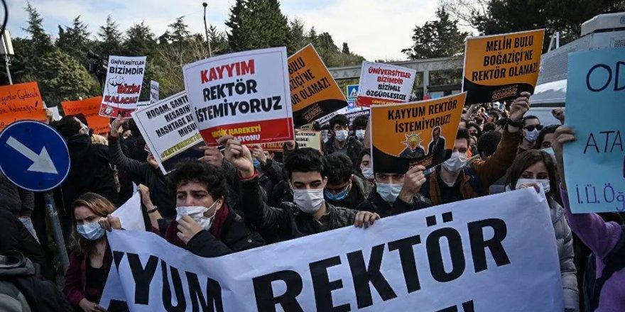 9 Eylül Üniversitesi'nde 35 öğrenciye Boğaziçi cezası