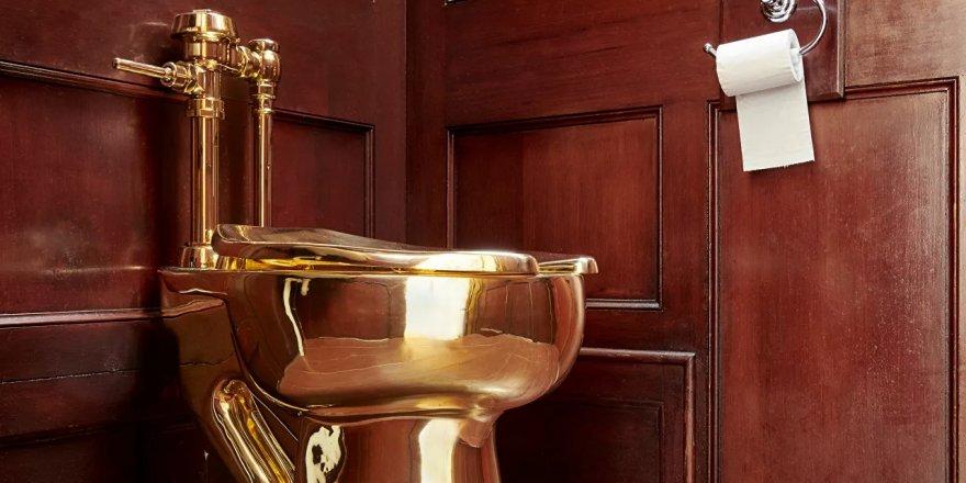 2 yıl önce Blenheim Sarayı'ndan çalınan 6 milyon dolarlık altın klozete dair bir iz bulunamadı