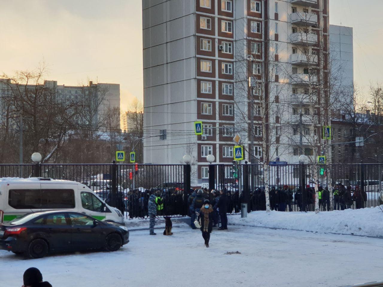 Navalny, 2. Dünya Savaşı'nda yaralanan askere söylediği sözler nedeniyle tekrar hakim karşısında