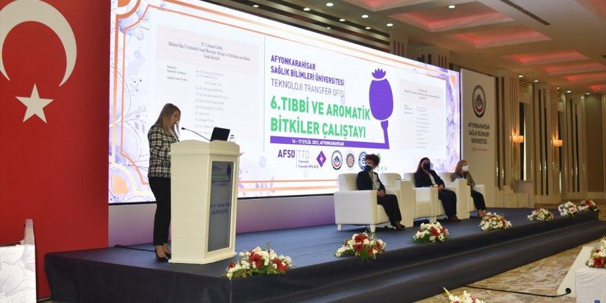 Afyonkarahisar'da 6. Tıbbi Aromatik Bitkiler Çalıştayı sona erdi