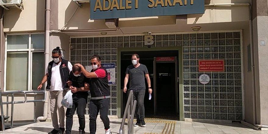 Aydın'daki uyuşturucu operasyonunda yakalanan 10 şüpheliden 1'i tutuklandı