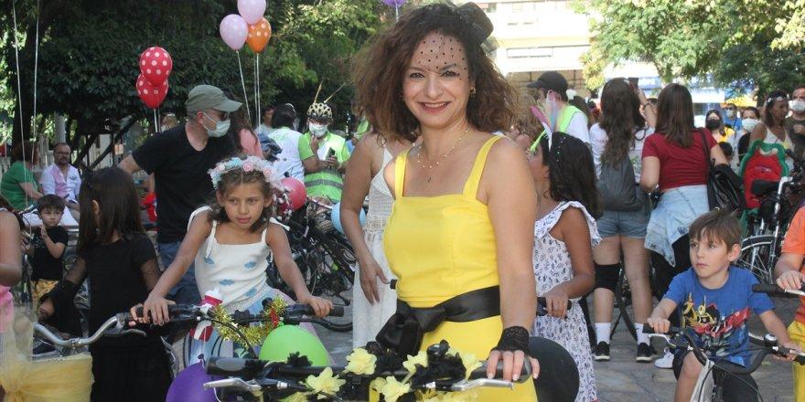 """Muğla'da Muğla'da """"Süslü Kadınlar Bisiklet Turu""""nun 9'uncusu yapıldı"""