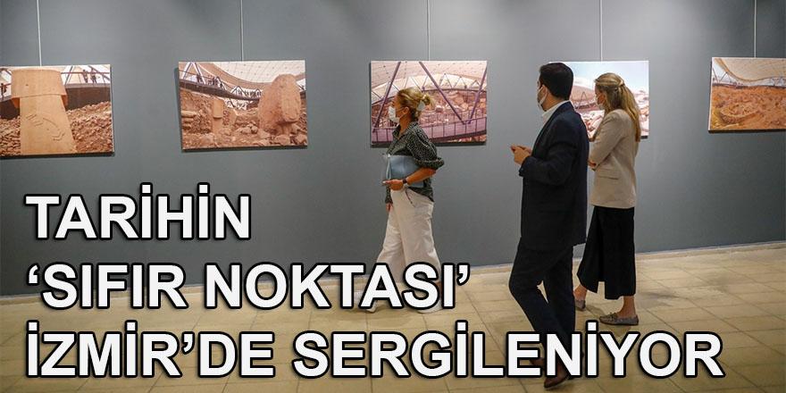 """""""Tarihin sıfır noktası"""" Göbeklitepe'nin fotoğrafları İzmir'de sergilendi"""