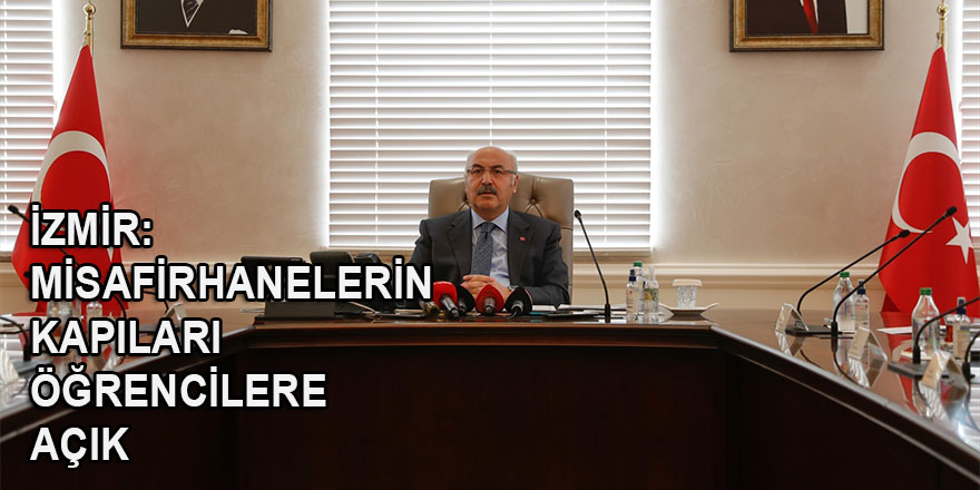 İzmir'de kalacak yeri olmayan öğrenciler misafirhanelerde ücretsiz barınabilecek