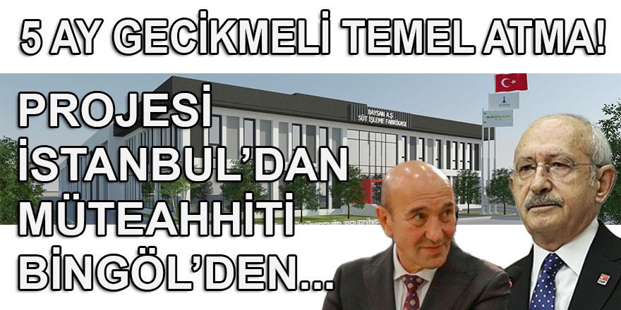 Kılıçdaroğlu 5 ay geciken süt işleme tesisinin temelini atmak için pazar günü İzmir'de...