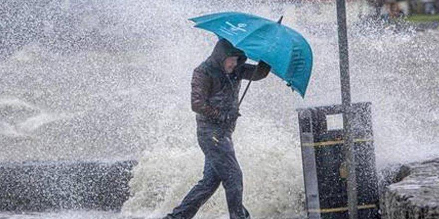 Meteorolojiden kuvvetli rüzgar ve sağanak yağış uyarısı