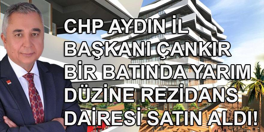 CHP Aydın İl Başkanı Ali Çankır'dan bir batında rezidans dairesi satın alma rekoru: Yarım düzine...