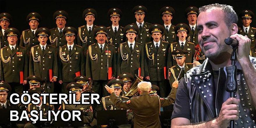 Haluk Levent: Rus Kızılordu Korosu ile gösteriler başlıyor