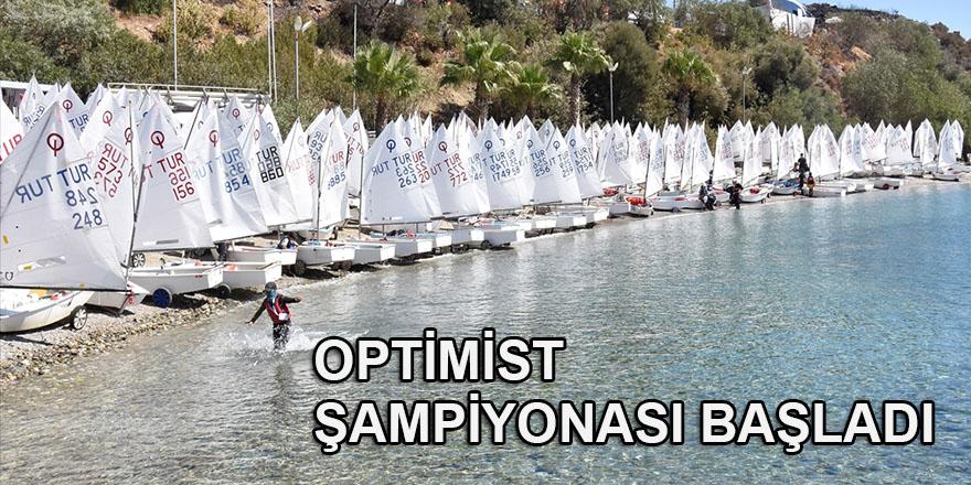TYF 2021 Optimist Türkiye Şampiyonası, Bodrum'da başladı