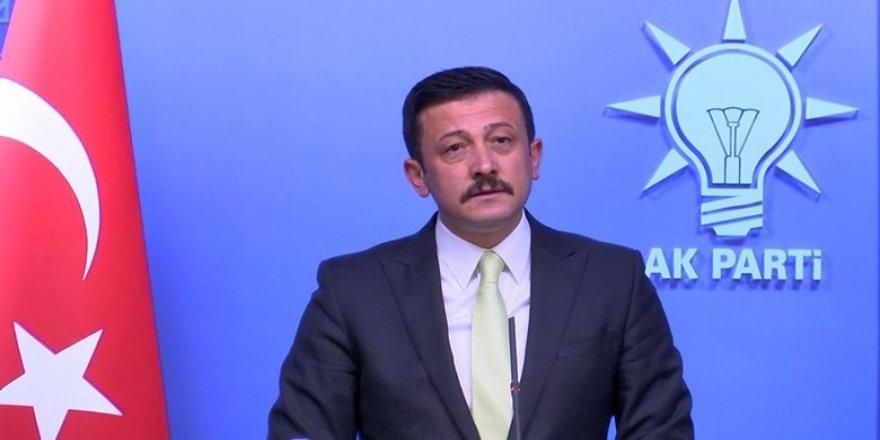 AK Parti Genel Başkan Yardımcısı Hamza Dağ: Kılıçdaroğlu ısrarla yalan söylüyor