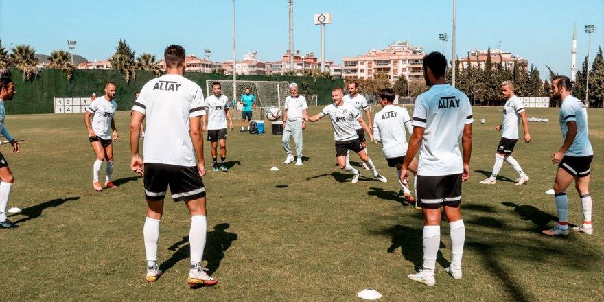 Altay, Gaziantep maçının hazırlıklarını sürdürdü