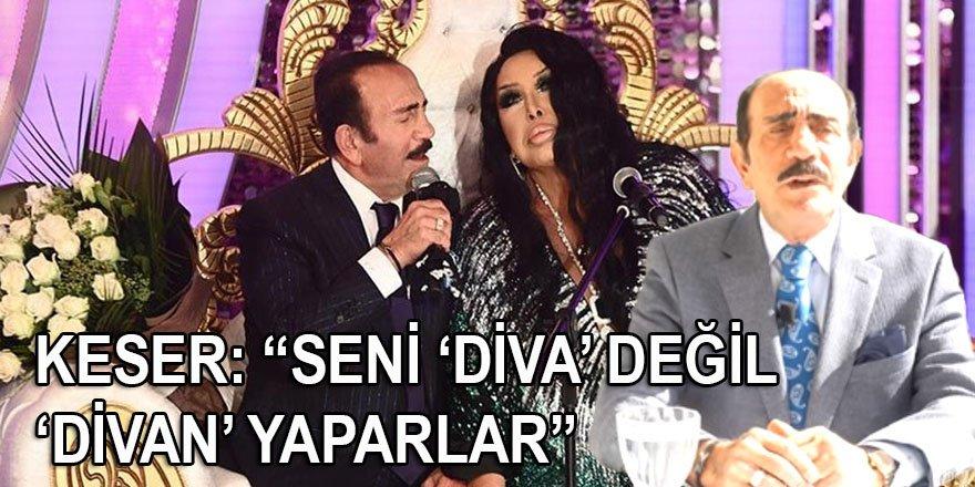 """Mustafa Keser'den çok sert Bülent Ersoy açıklaması: """"Seni 'Diva' değil 'Divan' yaparlar"""""""