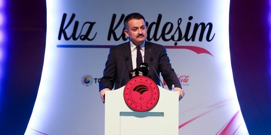 Tarım ve Orman Bakanı Pakdemirli, İzmir'de kadın girişimcilerle bir araya geldi