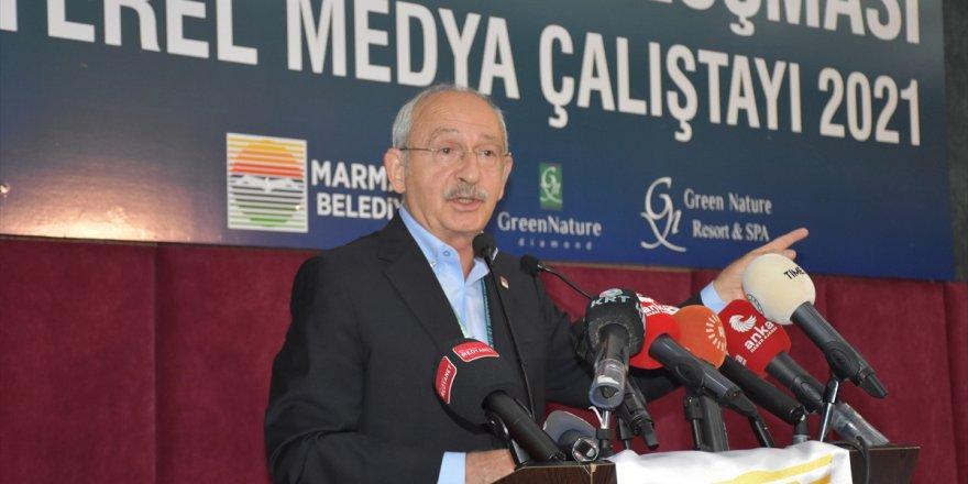 CHP Genel Başkanı Kılıçdaroğlu, Muğla'da Yerel Medya Çalıştayı'nda konuştu