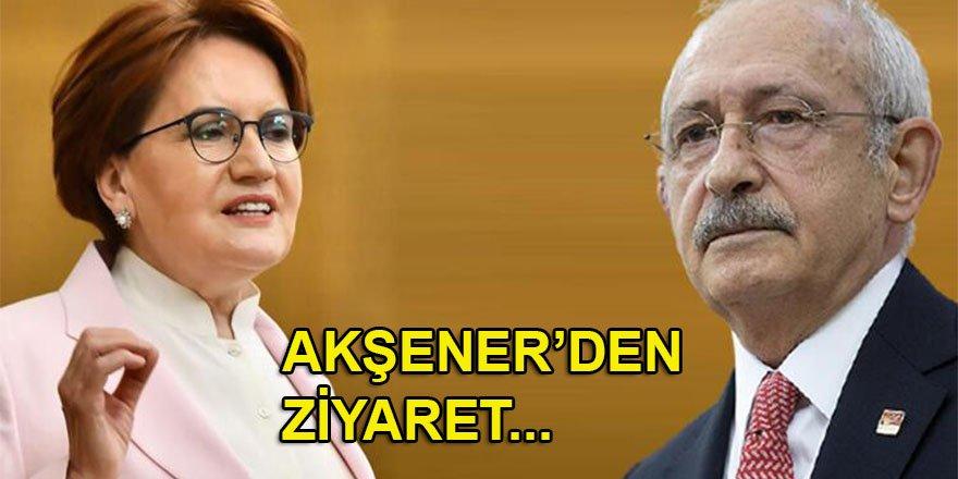 "İYİ Parti Lideri Akşener'den CHP'ye ""parlamenter sistem"" ziyareti"