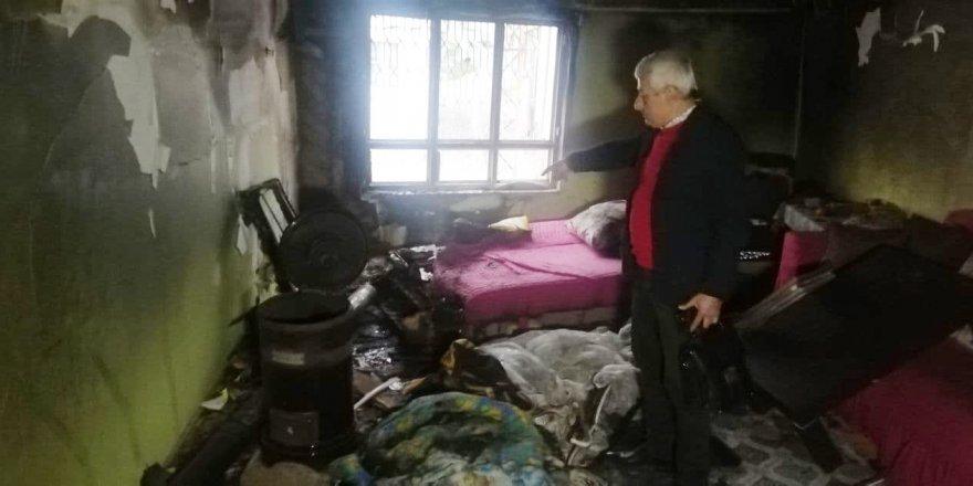 Yangında ağır yaralanan çocuk kurtarılamadı