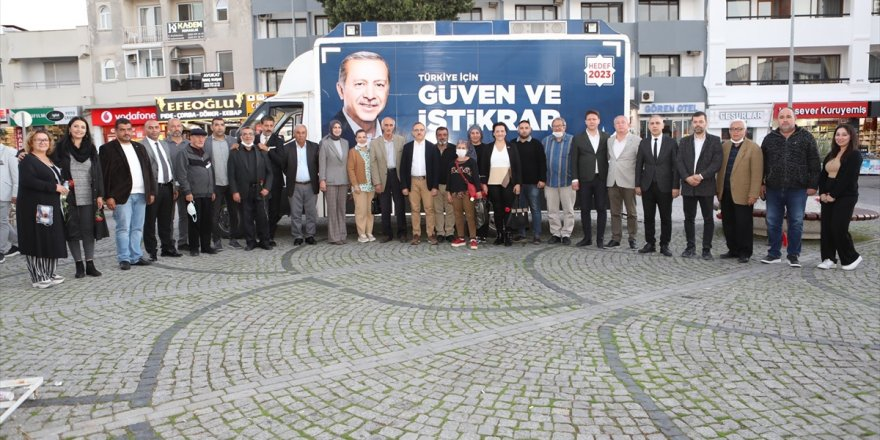 """AK Parti'li Sürekli'den Çeşme Belediyesi'ne """"altyapı"""" eleştirisi"""