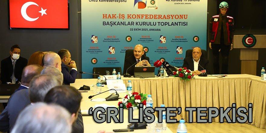 """Bakan Soylu'dan FATF'a gri liste tepkisi: """"Bir eksiğimiz vardı, Osman Kavala'yı, Demirtaş'ı serbest bırakmadık"""""""