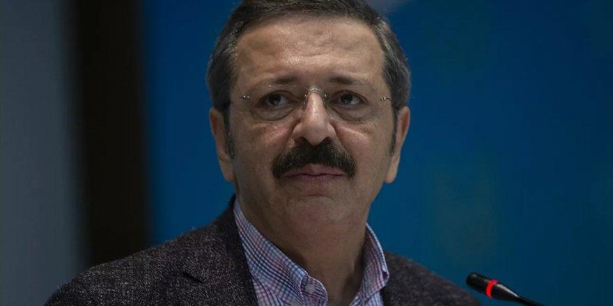 TOBB Başkanı Hisarcıklıoğlu'ndan 'faiz indirimi' açıklaması