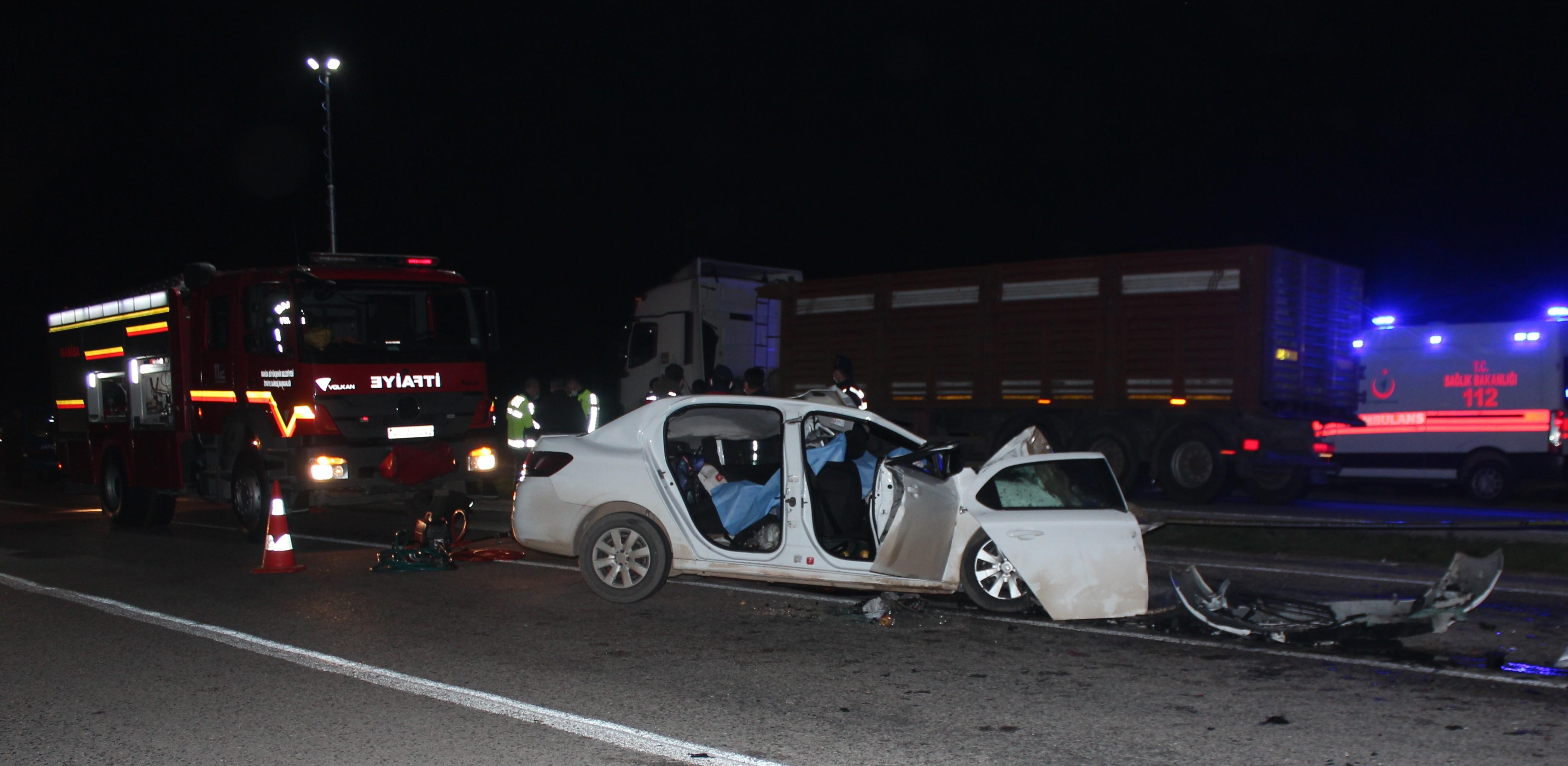 Manisa'daki feci kazada ölü sayısı 3'e yükseldi