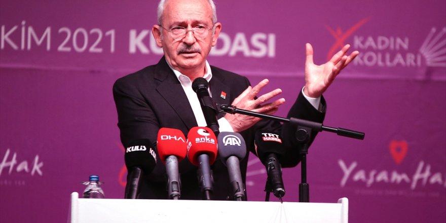 CHP Genel Başkanı Kılıçdaroğlu, Aydın'da kadın kolları toplantısında konuştu