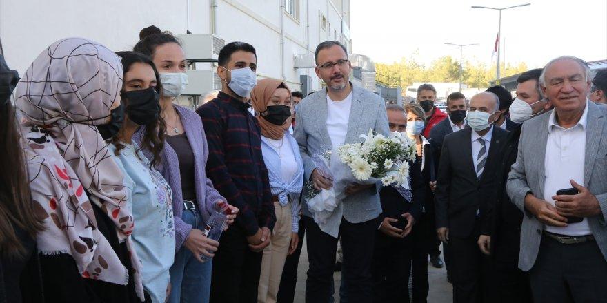 Gençlik ve Spor Bakanı Kasapoğlu, Muğla'da yatırımları inceledi