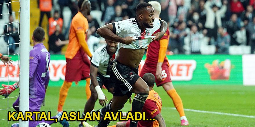 Beşiktaş: 2 - Galatasaray: 1