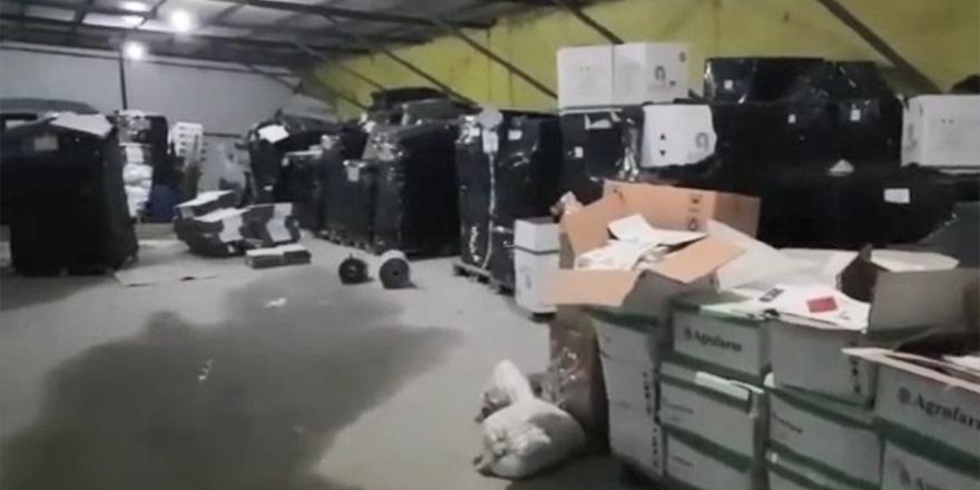 Jandarmadan imalathaneye baskın: 20 milyon TL'lik sahte tarım ilacı ele geçirildi