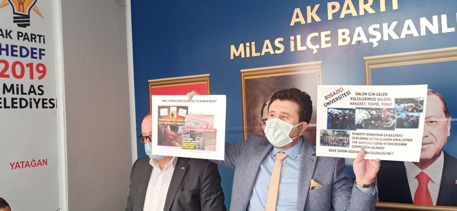 Cumhur İttifak'ından Kabe-i Muazzama'ya hakaret eden LGBT sapkınlarına destek veren Başkan Tokat'a tepki