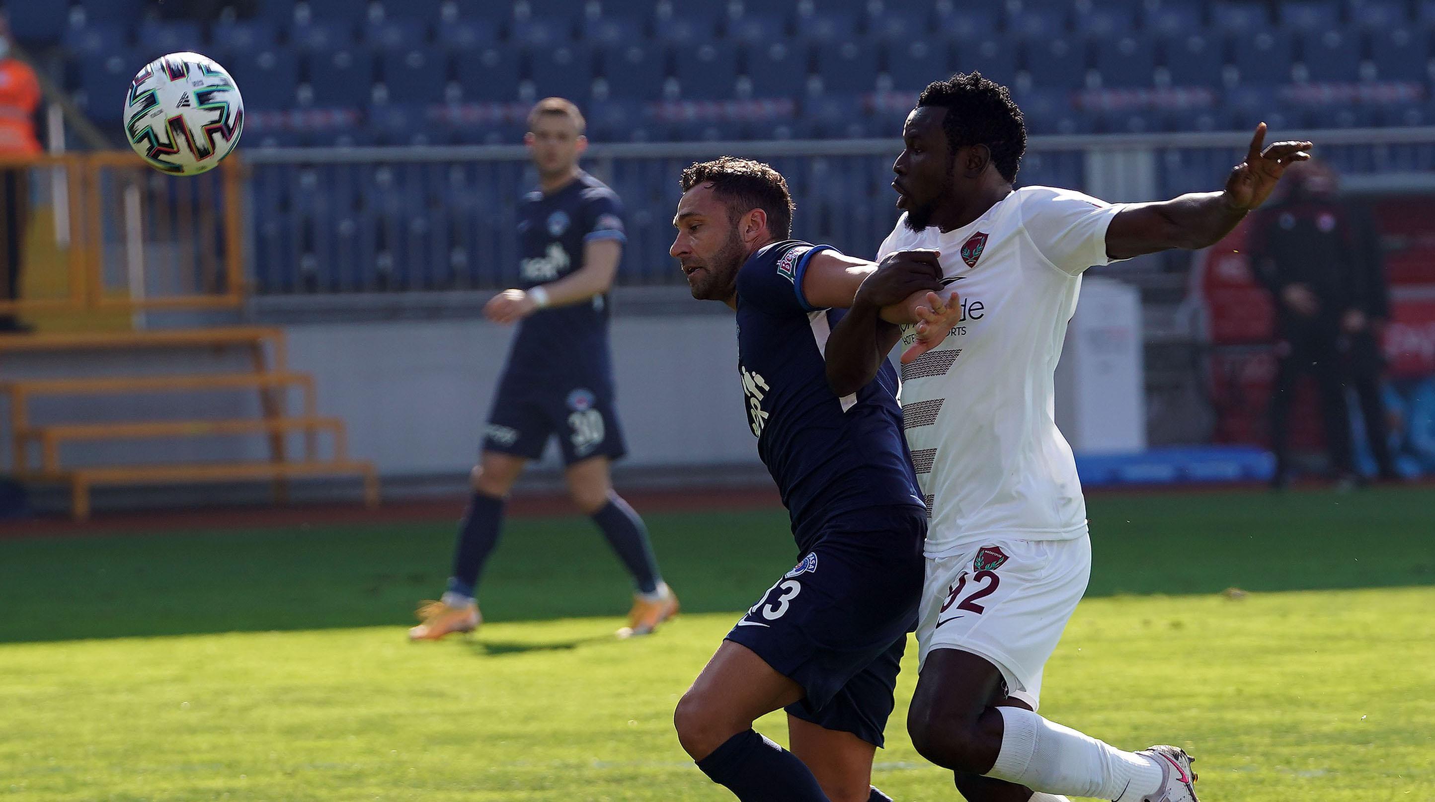 Süper Lig: Kasımpaşa: 1 - A.Hatayspor: 4
