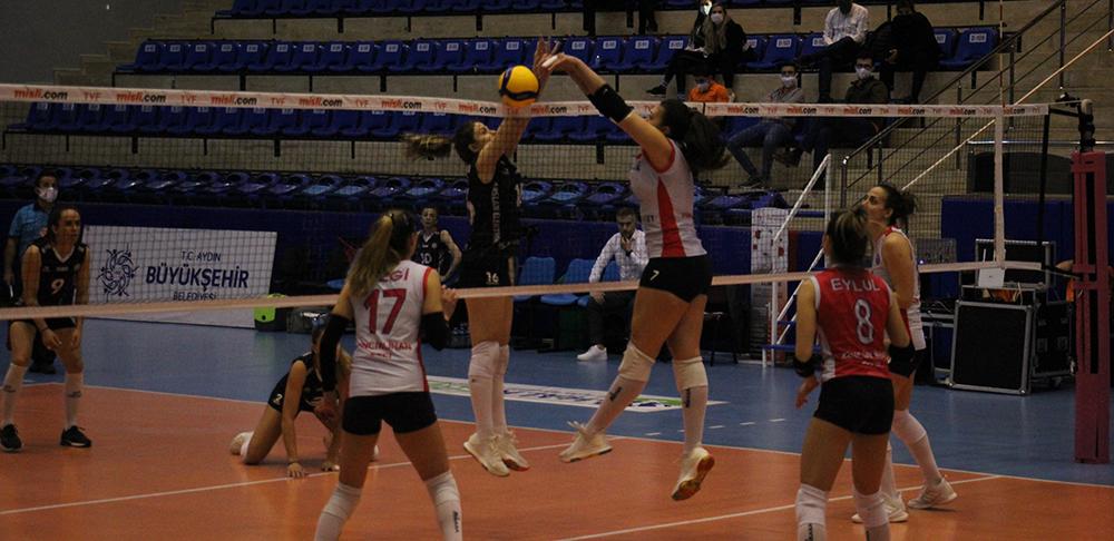 Sultanlar Ligi: Aydın Büyükşehir Belediyespor: 3 - Çan Gençlik Kalespor: 1