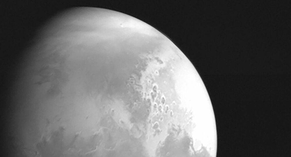 Çin'in Mars keşif aracı Tianwen-1'den ilk Mars fotoğrafı