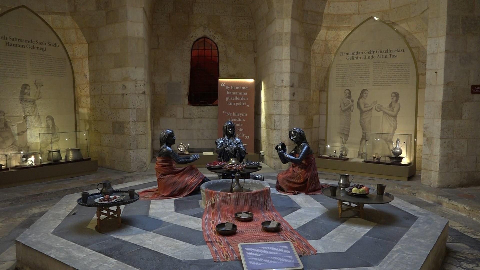 Türkülere konu olan Antep'in Hamamları bu müzede yaşatılıyor