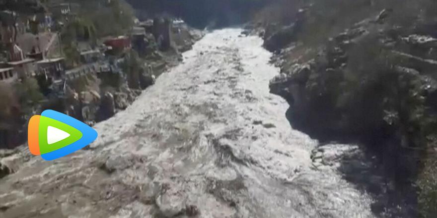 Hindistan'da buzul felaketi